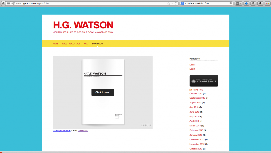 And this is how it looks embeded on my own website