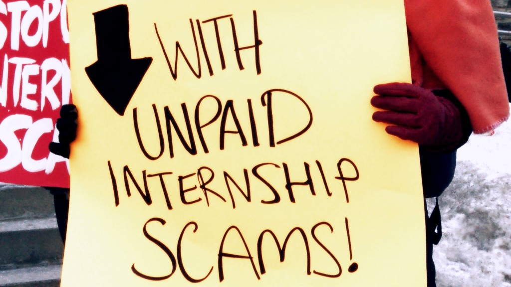 Photo by Cynthia Pandev from the film Pay Your Interns!