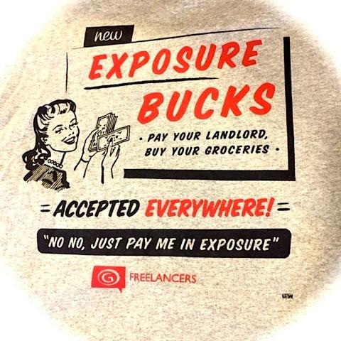 exposure tshirt
